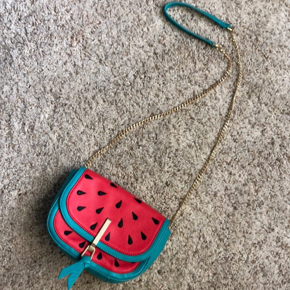 Vera Bradley leather watermelon crossbody bag. M 5b3d088f035cf1119f594e1e 90692172a302c